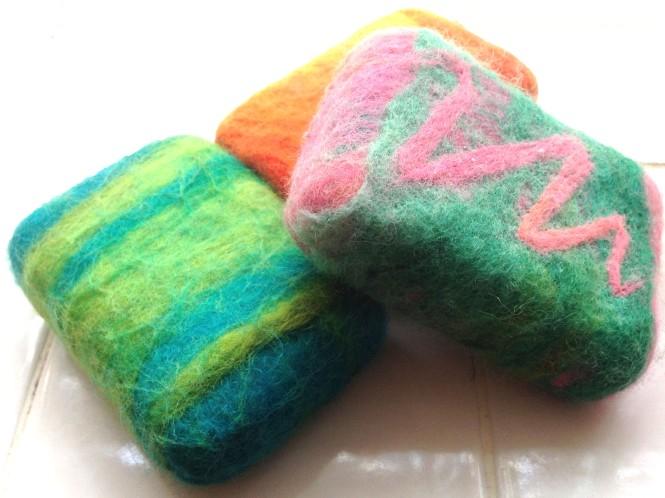 Felted Soap : LucidDesign