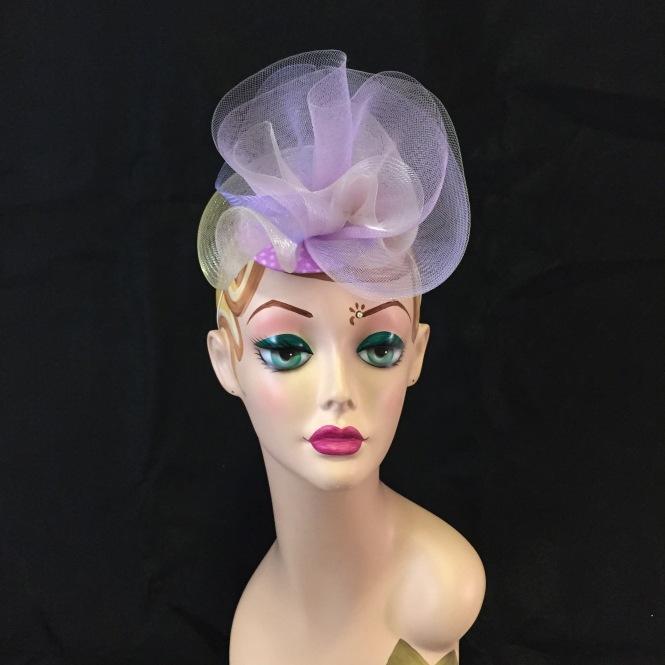 Lilac & Lavender - Wedding, Evening, Races, Special Occasion Headpiece
